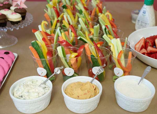 Easy Ideas For Baby Shower Food | Baby Shower For Parents