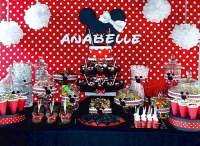 Minnie Mouse Baby Shower Decoration Ideas   FREE Printable ...