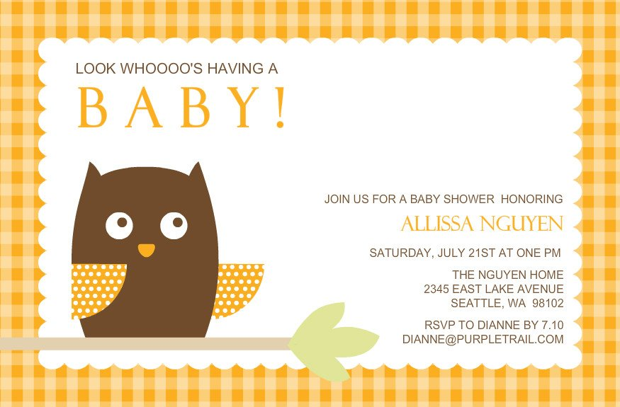 How To Plan Gender Neutral Baby Shower Free Printable