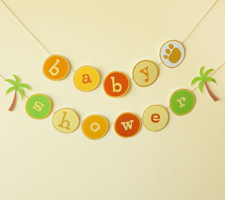 How To Make Baby Shower Banner With Photoshop ? FREE Printable