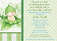 Twin Baby Shower Themes Ideas : Pea In The Pod | FREE ...