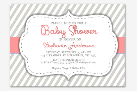 Free Baby Shower Invitations Templates for Word Baby Shower for - baby shower invitations for word templates