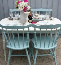 Shabby Chic/Vintage Dining Table & Chairs | Bees Knees ...