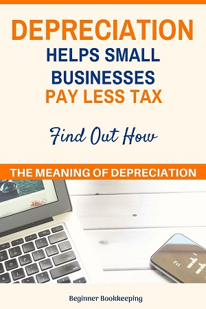 Meaning of Depreciation in Bookkeeping