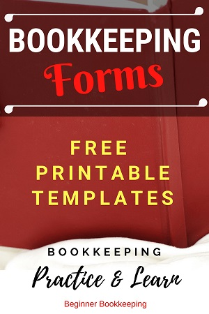 Free Bookkeeping Forms and Accounting Templates Printable PDF - printable accounting forms