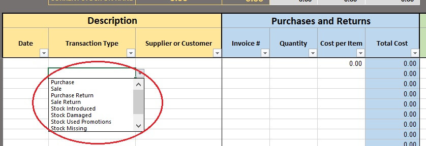 Free Excel Inventory Template - free excel inventory templates