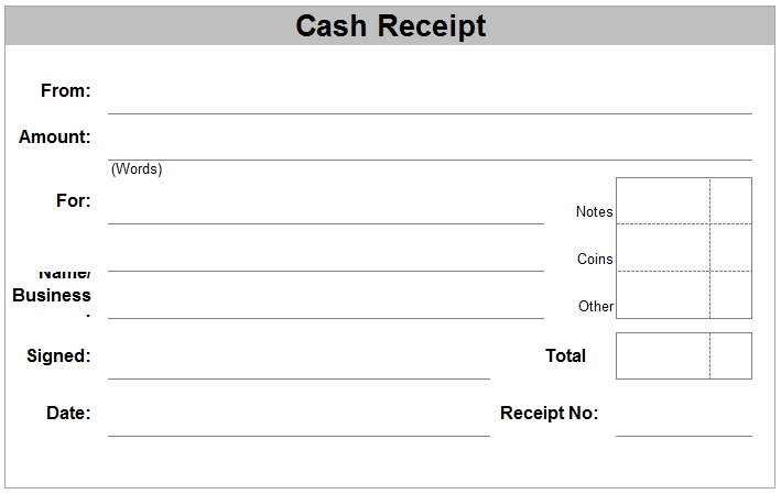 free printable receipt for payment - Eczasolinf - printable receipt for services
