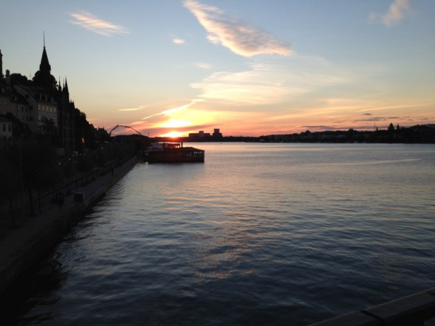 Stockholm September evening