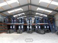 Tire Racks, Heavy Duty Tire Racking | Begra Storage Solutions