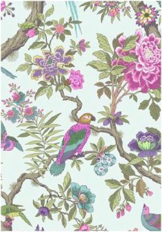 fountainebleau behang cole and son folie behangpapier collectie luxury by nature
