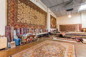 persian rugs showroom
