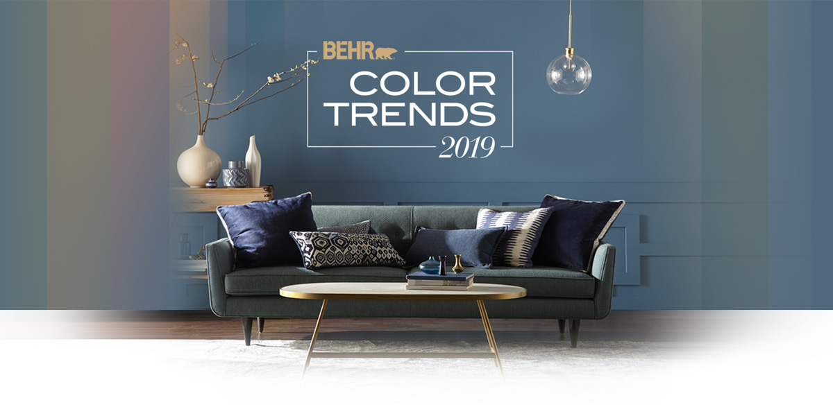Color Trends for 2019  The Behr Color of the Year Behr Paint