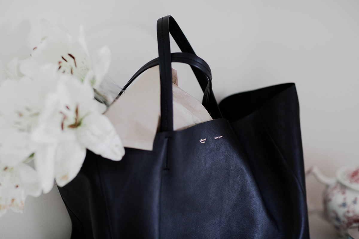 celine tote review