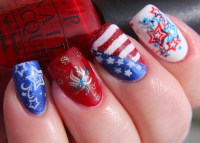 Finger Lickin' Good Fourth of July Nail Art! - www ...