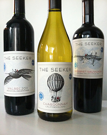 BeInkandescent Does a Wine Label Make You Want to Buy the Bottle? - wine label