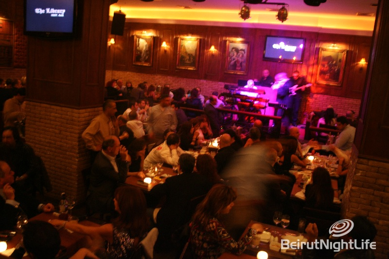 Friday Night @ The Library Beirut