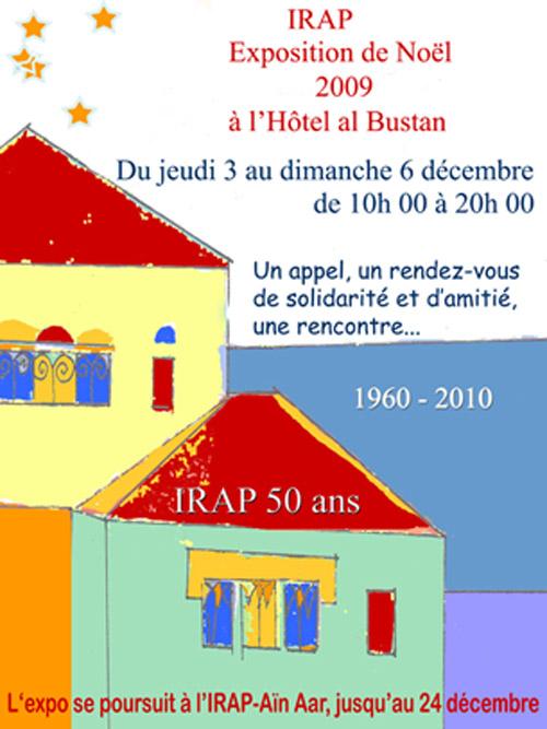 IRAP Exposition de Noel