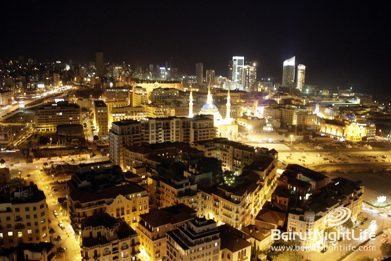 Beirut Shining from the Sky