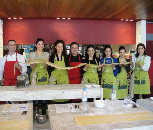 Eatalian restaurant brings out the designer chef in you!