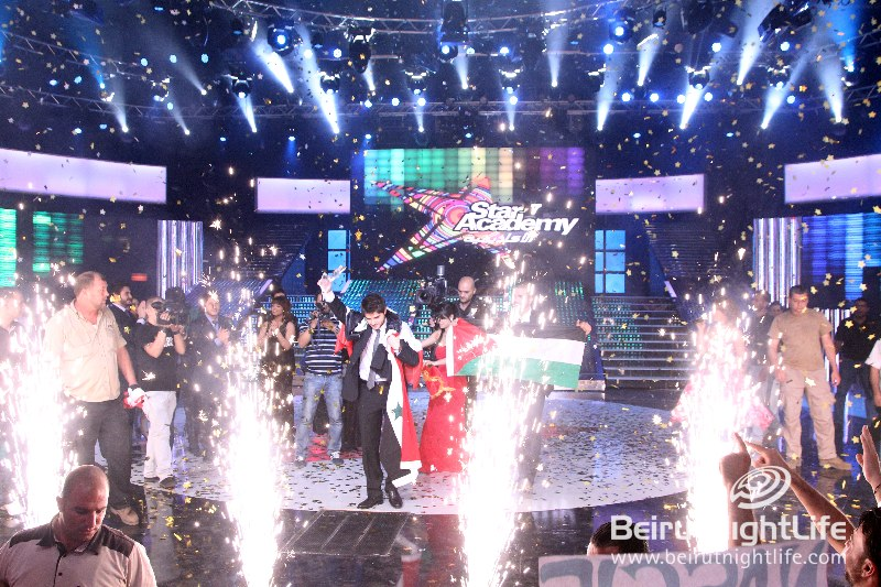 """Syrian Nassif Al Zaytoun crowned """"Star Academy  7"""" winner at the Final Prime- Premiere Photos"""