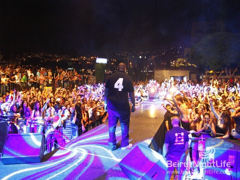 Can y'all feel this? Timbaland in Lebanon!!