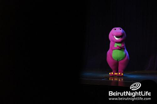 Barney Let's Imagine: The biggest Children live show Lebanon