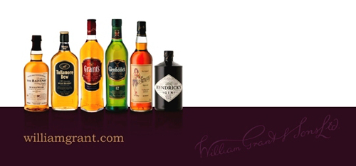 Grant's Receives High Accolades at the IWSC and ISC Drinks Competition
