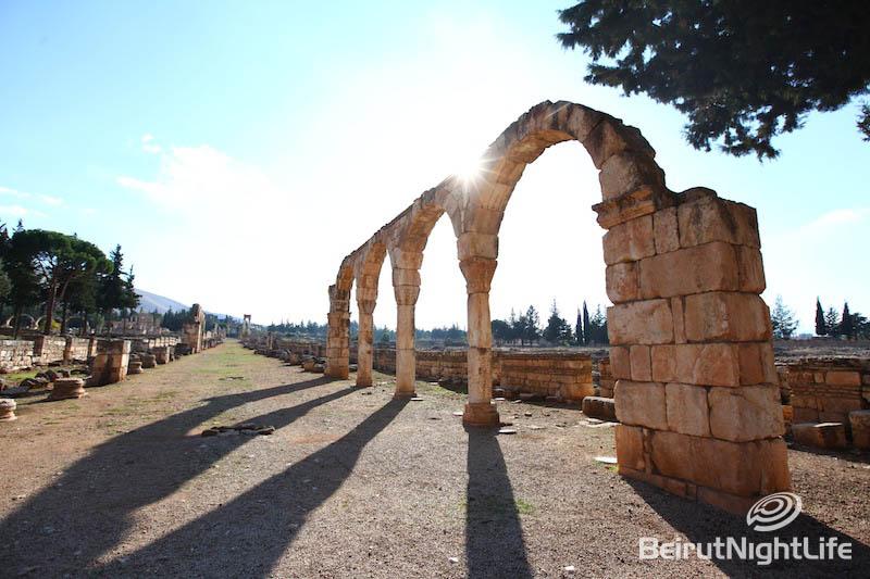 Around Lebanon: Anjar