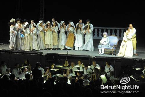 Byblos International Festival 2010: Le Nozze di Figaro