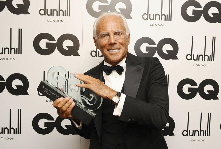 Giorgio Armani: Designer of the Year 2010
