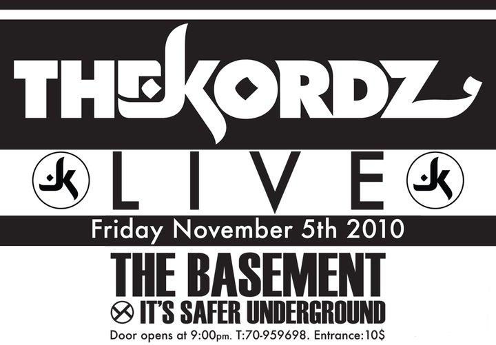 THE KORDZ (live) at THE BASEMENT