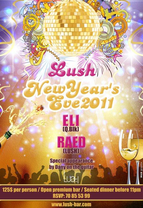 New Year's Eve At Lush