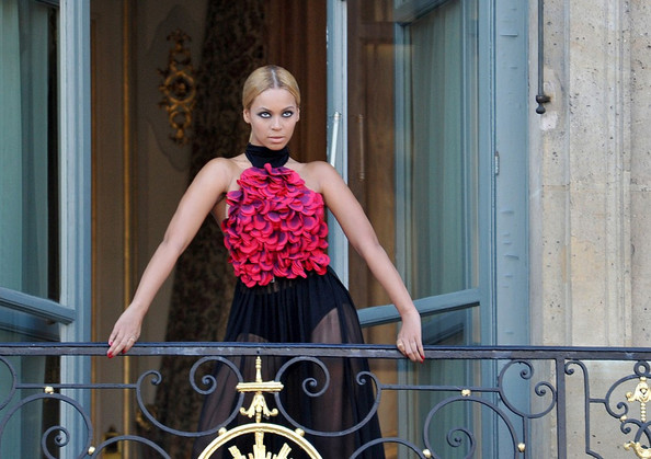 Beyonce Takes Paris by Storm