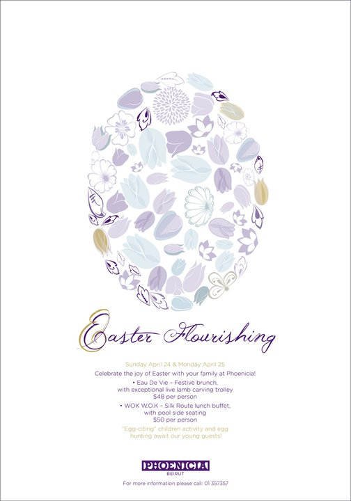 Easter Flourishing At Phoenicia Hotel