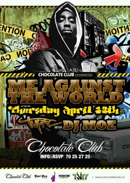 Tribute To Tupac At Chocolate Club