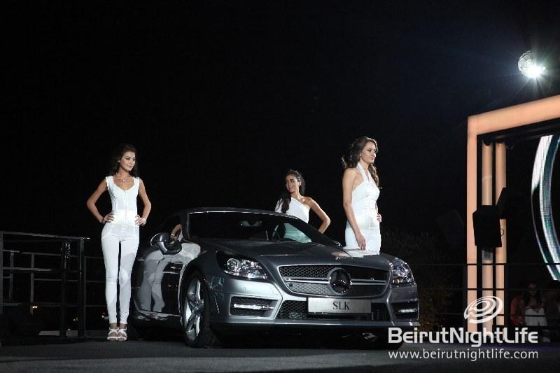 Dazzling Launch of Mercedes-Benz C-Class Coupé and SLK Roadster