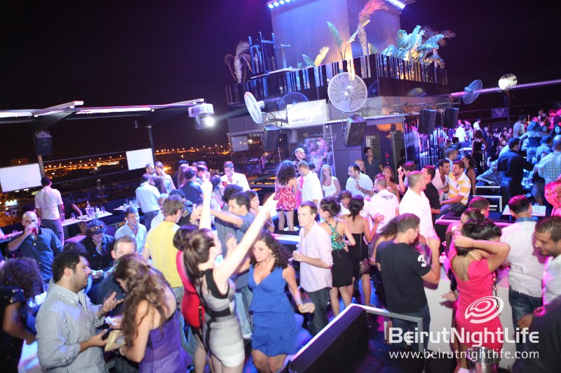 Club One at Beiruf Killer DJ's Hang with Energetic Party Goers