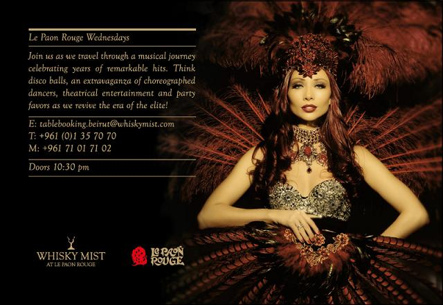 Le Paon Rouge At Whisky Mist