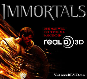 Enter To Win Spots to the Immortals 3D Premiere with BNL and Grand Cinemas'!