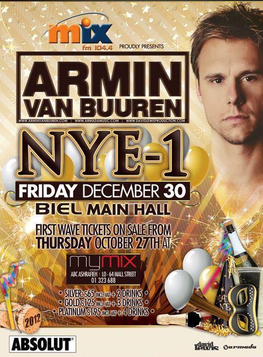 NYE-1 With Armin Van Buuren