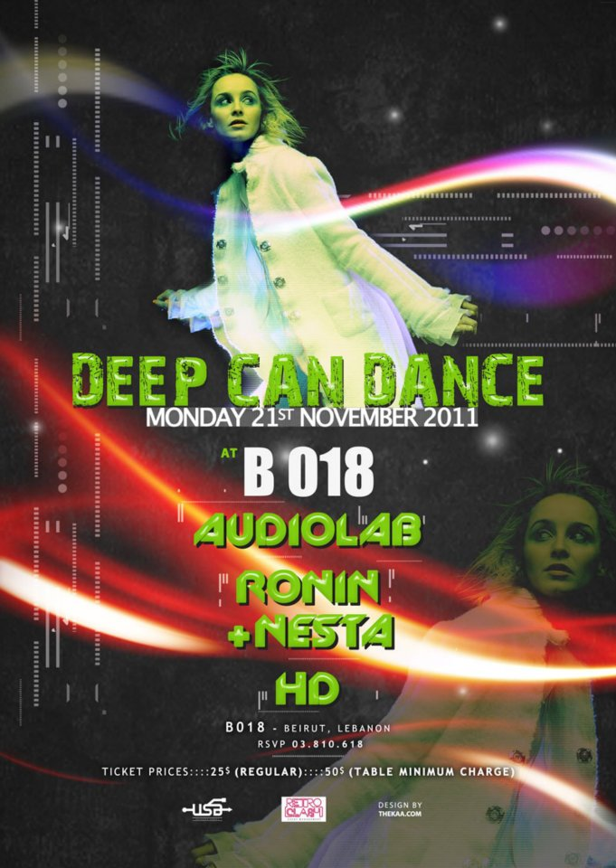 Deep Can Dance At B018