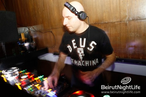 The Hurly Burly Event at B018 Featuring Fady Ferraye