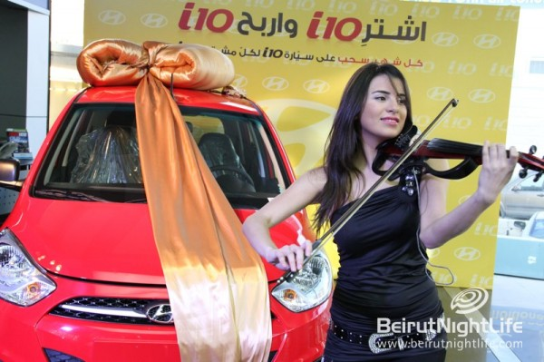 Hyundai's 2012 i10 Giveaways Commence