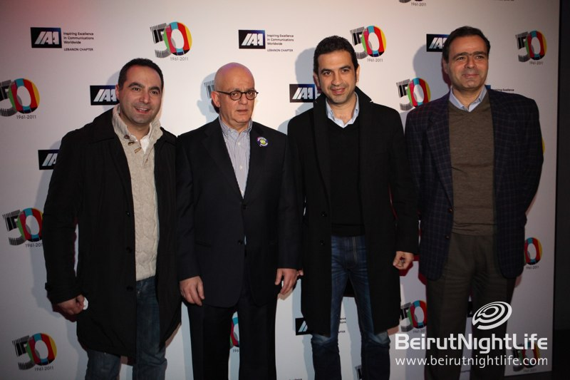 50th Anniversary of the International Advertising Association at Palais Maillot