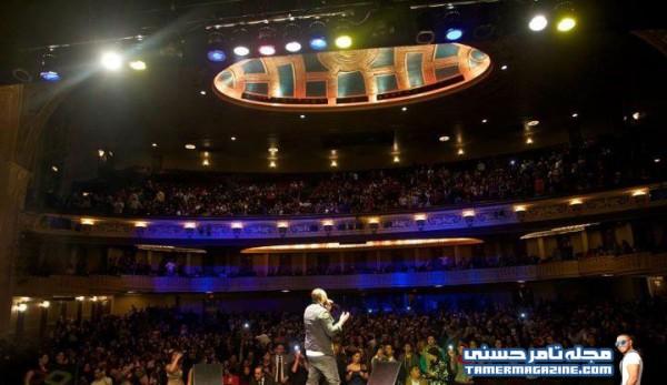 Tamer Hosny Performs in Detroit
