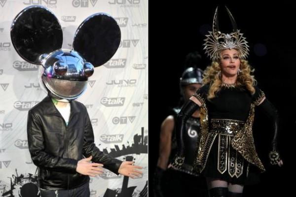 Deadmau5 Attacks Madonna for Allegedly Encouraging Drugs