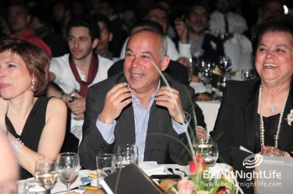 7th Annual Cristal MENA Festival at Mzaar Hotel: Mr. Pierre Choueiri Named Media Man of the Year!