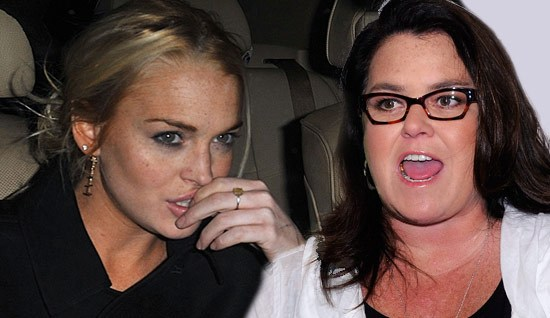 Lindsay Lohan is Attacked by Rosie O'Donnell!