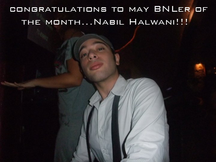 Congratulations Nabil Halwani, BeirutNightLife.com's Reader of the Month!