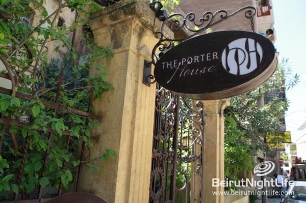 Porterhouse: One of Gemmayzeh's Hidden Treasures
